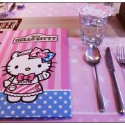 [台北.美食]Kitty Sweets~KITTY主題餐廳.夢幻少女風