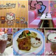 【美食】台北 大安區 東區 忠孝商圈 Hello Kitty Kitchen & Dining主題餐廳 日本授權台灣第一間無嘴凱蒂貓Hello Kitty主題餐廳,讓女孩們瘋狂的夢幻天地