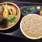 捷運中山站✿二月半そば✿天氣悶熱沒胃口? 那就吃透心涼的100%日式蕎麥涼麵!!