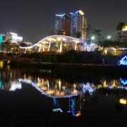 【台中】秋紅谷廣場.白天和夜晚交替著悠閒美好的情懷