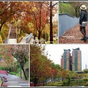 台中。春遊超唯美秋紅谷景觀生態公園。免門票唷!