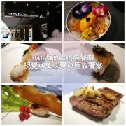 [台北食記]中山區 HANA錵 鐵板燒(原紅花鐵板燒)●精緻奢華的鐵板料理●彷彿置身私人招待所