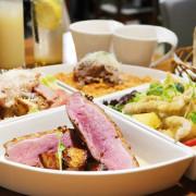 [ 南京復興站美食 ] 淺藍 × 吃義燉飯~菜色多樣大份量,推薦聚餐的義式餐廳