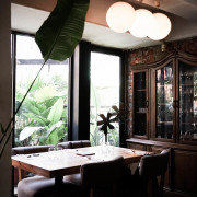 the villa-herbs restaurant X魔王 台北大安區 南歐風格香草餐廳下 我們一起渡過一頓愉快的午餐 香煎明太子起司雞胸 捷運六張梨站 內文有店家資訊