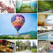 鹿野鹿鳴溫泉酒店~熱氣球享鹿飛飛一泊五食全包式渡假專案,全台唯一飯店直升熱氣球