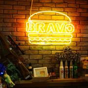 【洋食】台北大安 發福廚房 Bravo Burger(市民店) 招牌花生醬牛肉堡搭配布朗尼 私房推薦