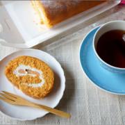 [試吃]滿滿野菜的健康概念甜點 - 菠啾花園.菠啾蕃茄乳酪蛋糕捲【蛋糕甜點推薦】