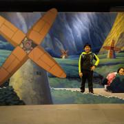 新北市板橋室內免費旅遊景點 府中15新北市動畫故事館:免費參觀 手搖動畫 免費包廂看影片
