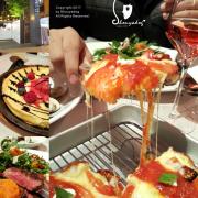 【美義料理餐廳】底特律方形披薩初體驗 一家三口約會趣 amba Hotels & Resorts 台北西門町意舍酒店 吃吧