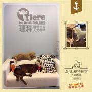 (推薦)[板橋]寵物餐廳初體驗~Tiere堤柇寵物住宿人文咖啡