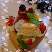「R9 CAFE」蜜糖土司
