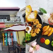 老宅內享用早午餐就是舒服!莎莎莉朵Sausalito Cafe有著充滿綠意的庭院,附餐飲品都可無限續,冰淇淋也可外帶當散步甜點呦