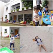 【台中親子餐廳】稞枓咖啡廚房。戶外沙坑.草皮庭院.室內小遊戲室 小孩好歡樂 早午餐BRUNCH好誘人