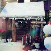 [愛生活] 歡迎來到聖誕村~銀白色的世界 台北下雪了 / Bellavita貴婦百貨