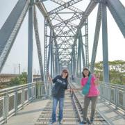 高屏舊鐵橋˙宏偉壯觀的[天空步道]