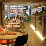 【椅子咖啡.FABRICA】大安區。歡迎光臨設計人的咖啡館,新菜單美味又健康~推薦比利時烈日鬆餅&義大利麵❤