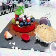 【西區】咖啡瑪榭Cafe Marche二訪~繽紛盆栽甜點~ 《文末有Menu》