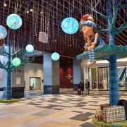 CITYLINK南港車站.幾米吹泡泡展~~走入真實繪本世界,感受濃濃童話色彩