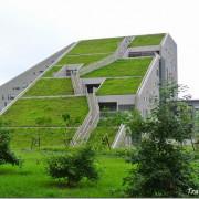 【台東.知本】這是山脈?丘陵?外星人基地?其實是台東大學知本校區圖書館啦 (附校園平面圖)