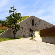 [ 台東⊙知本]台東大學。獨特的山形圖書館