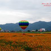◎【宜蘭 2015三星花海熱氣球嘉年華】黃色大地毯+彩虹熱氣球~怎能不著迷?!