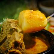 【中肯‧食記】市民大道‧The Owl 敖唷-韓式湯飯專賣|招牌馬鈴薯豬骨湯‧韓式熱湯澆飯最對味!