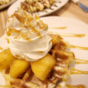 邀約【港墘】Waffle Please比利時列日鬆餅。不容小覷的鬆餅魔力。內湖 南港 下午茶 外送