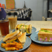 """【新北美食】就是要吃早餐 ~ 一早起床,當然 """"就是要吃早餐"""" 來個手作碳烤三明治,真材實料讓你吃了立馬喚醒一天的活力。。。。"""