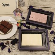 宅配美食|來自清境好滋味妮娜巧克力工坊85%頂級生巧克力軟綿滑口檸檬塔生巧克力清新自然 聖誕禮物