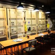 [高雄鹽埕][駁二] 工業風X簡單生活美式餐廳NOW & THEN by nybc