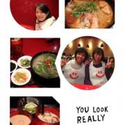 【食】台北--微風台北車站,瓦城大心新泰式麵食,酸辣海陸麵好吃!黑火山冰淇淋味道夠濃!