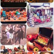 【台北中山區 早午餐 】手提箱早午餐 Tank Q 捷運松江南京站-公仔迷 早午餐 下午茶。美式漢堡。輕食沙拉。