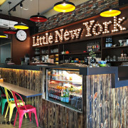 【台中 西屯】小紐約 Little New York Cafe#高質感聚餐、獨處好所在