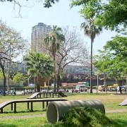 [玩樂] 高雄首座狗狗運動公園 (波浪板、涵洞、草地、沙地通通有)