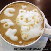 【美食】「新竹.超可愛貓咪咖啡拉花之Catbii Cafe 卡比咖啡」