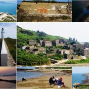 馬祖旅遊: 低碳漫遊-離島中的離島-東莒島-從白天美到黑夜,沙灘挖花蛤,最難忘藍眼淚