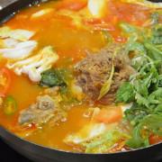 大漢門韓式食堂~~台北行天宮站美食.暖呼呼的韓國部隊鍋.傳統道地的韓式料理