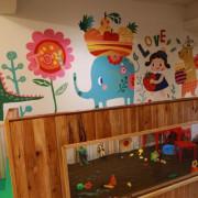 【食】新北--淡水親子餐廳-竹圍朵喵喵廚房,體驗決明子沙坑,辦派對PARTY包場聚會的好選擇