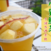 【台南永康】沁涼一下~大大滿足的特調水果茶-小賀鮮茶
