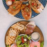 台中西屯|拾陌Shihmo.工業風設計人氣爆衝早午餐!