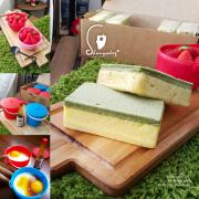 【蛋糕甜點】台灣復古風甜品三重奏 菜瓜布蛋糕 荷包蛋布丁 草莓囍籃提拉米蘇 木匠手作