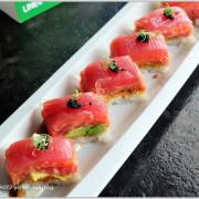 【新竹】竹北好食。美式創意日本料理,視覺味覺雙重驚豔「Sushi Vogue 壽司窩」(紐約新和食)