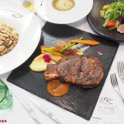 T.R Kitchen義法私廚料理,北屯美食聚餐推薦,在地食材融入義法料理,桂丁雞軟嫩、肋眼牛肉汁香甜~