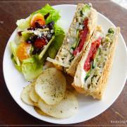 [雲林。 著迷.食間] 著迷在小巷內的天然蔬食歐式饗宴Enchanted café