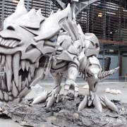 【新竹HSINCHU-竹東動漫園區Zhudong Anime Park】禾乃氏-擁有任意門的日子:奔跑吧!3D暴龍奇幻視覺展覽(2016/06/09-12/08),進入動漫的異想世界