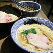 [ 中山站美食 ] 淺藍 × 麵屋一燈 ITTO~芳醇干貝雞湯拉麵、濃厚魚介沾麵