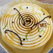 (胖樺食記)宅配甜點推薦「凡內莎烘焙工作室Vanessas Bakery」/母親節限定/檸檬馬告生乳酪蛋糕/蕾夢拾柒