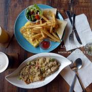 新竹美食│Carpe Diem Café 卡蓓咖啡♥鐵道路上的一抹悠閒‧工業風咖啡廳*