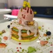Joanne Lee Cake Design‧繽紛彩虹鬆餅塔的美麗誘惑~害人不淺啊!!!!(附完整菜單)