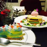捷運忠孝敦化站✿Joanne Lee Cake Design✿ 一口優雅 一口美好! 彩虹乳酪與彩虹鬆餅好美呀~~~